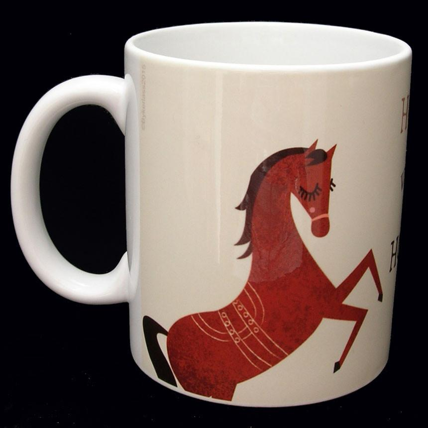 Home is Where My Horse is - Charlton Hall Designs Mug