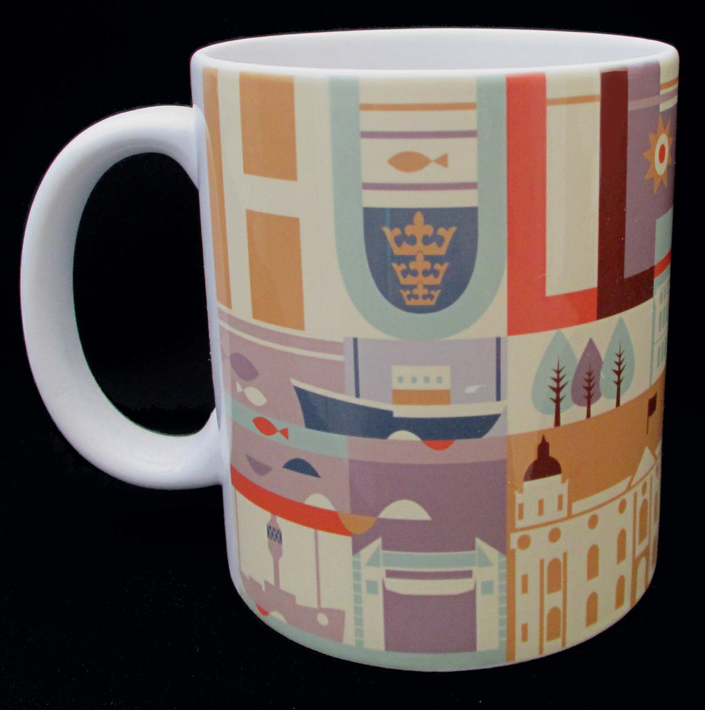 Hull City Scape - Yorkshire Mug Yorkshire Gifts