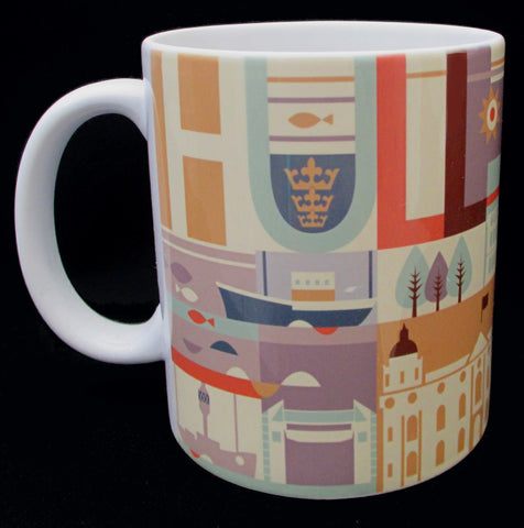 Hull City Scape - Yorkshire Mug (HCM1)
