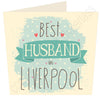 Best Husband in ......  Personalised Card MB13