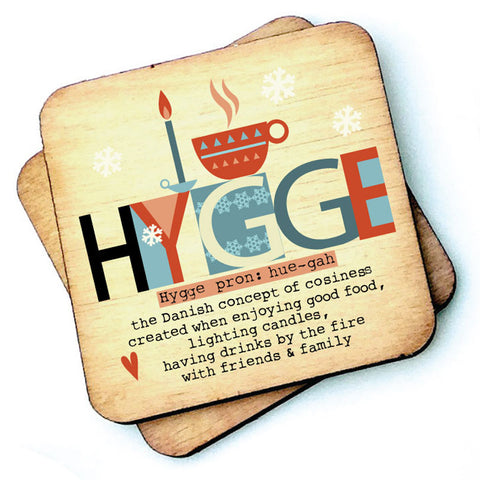 Hygge - Wooden Coasters - RWC1