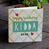 Happy Birthday Kidda Card by Wotmalike