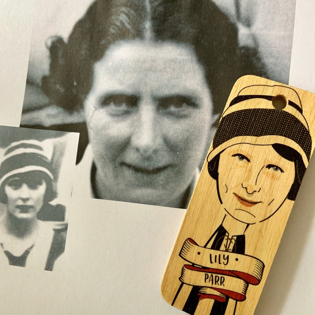 Lily Parr Character Wooden Keyring - RWKR1