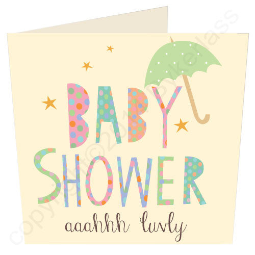 Baby Shower - Yorkshire Love Card (MB21)
