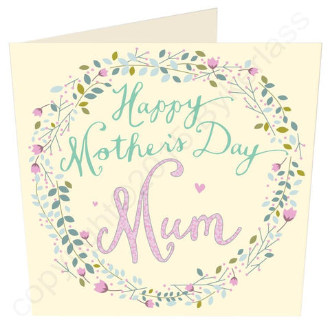 Happy Mothers Day Mum Card (MB23) Large Mothers Day Card -