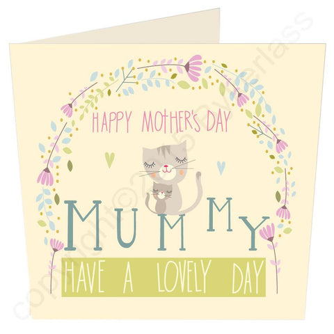 Happy Mothers Day Mummy Large Mothers Day Card  -  (MB26)