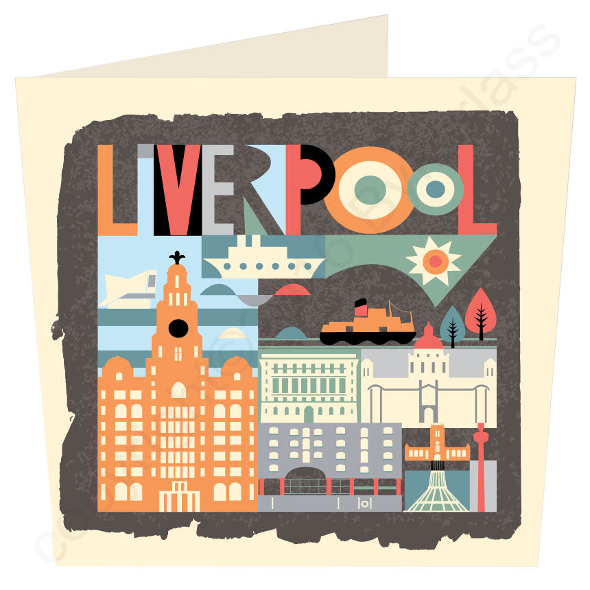 Scouse City Brights Scouse Card by Wotmalike