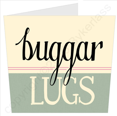 NEW! Buggar Lugs Card (MB38)