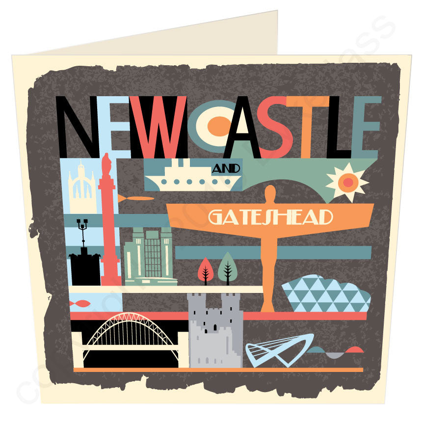Newcastle City Brights Geordie Card