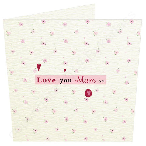 Love you Mum (MB54) Large Mothers Day Card -