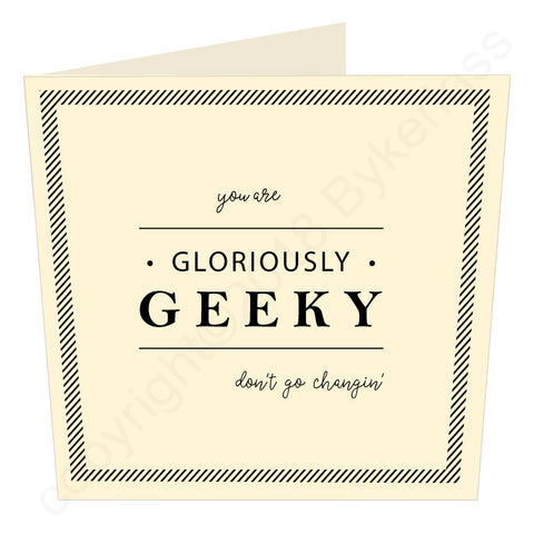Gloriously Geeky (MB57) Large Card