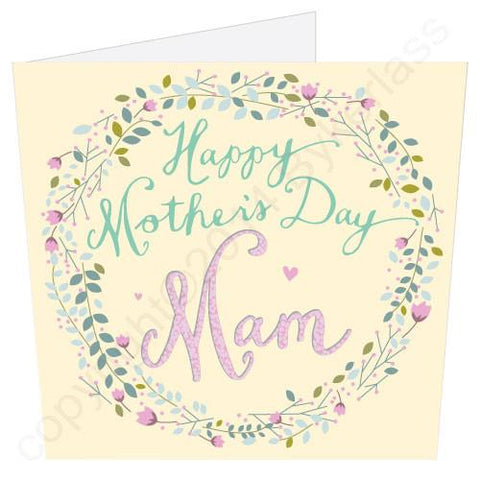Happy Mothers Day Mam (MB5)  Large Mothers Day Card  -