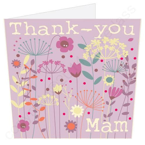 Thank You Mam Mothers Day Card -  (MB9)