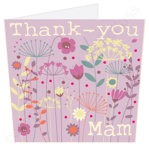 Thank You Mam Card (MB9)