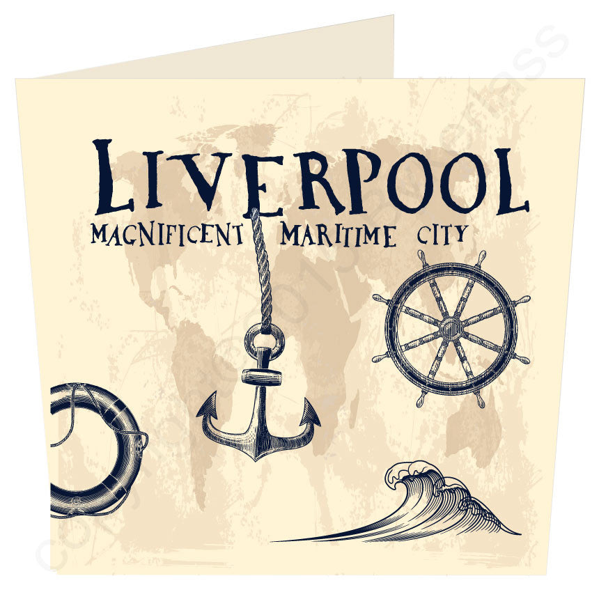 Liverpool Magnificent Maritime City Large Scouse
