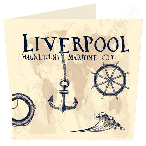 Liverpool Magnificent Maritime City Large Scouse Card (MBL2)