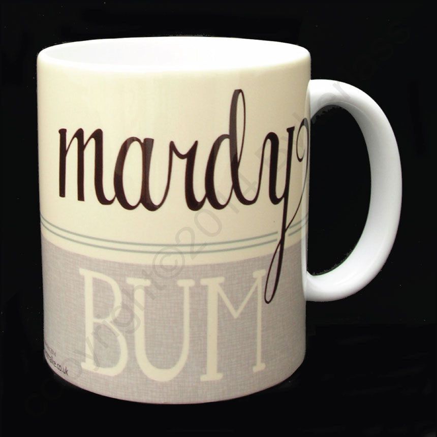 Mardy Bum (Green) Yorkshire Speak Mug Yorkshire Gifts