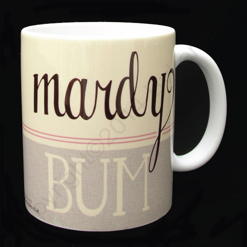 Mardy Bum (Pink) Yorkshire Speak Mug