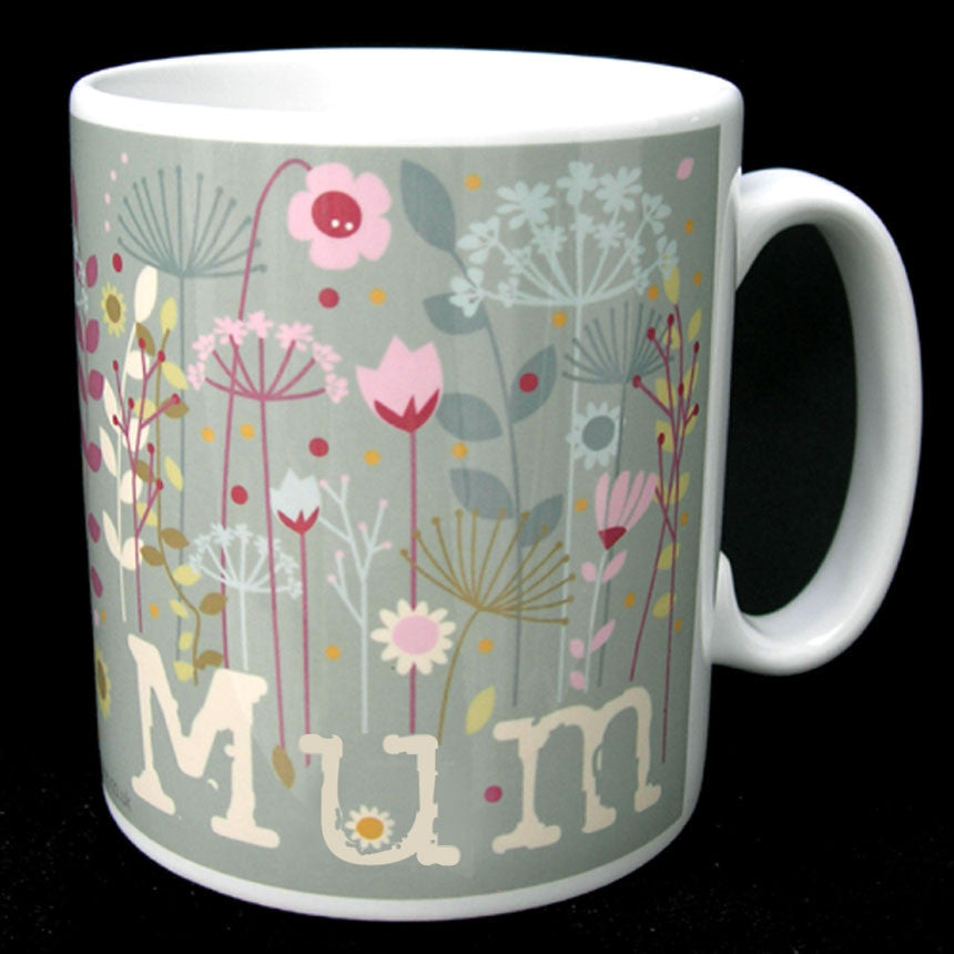 MUM FLORAL MOTHERS DAY MUG