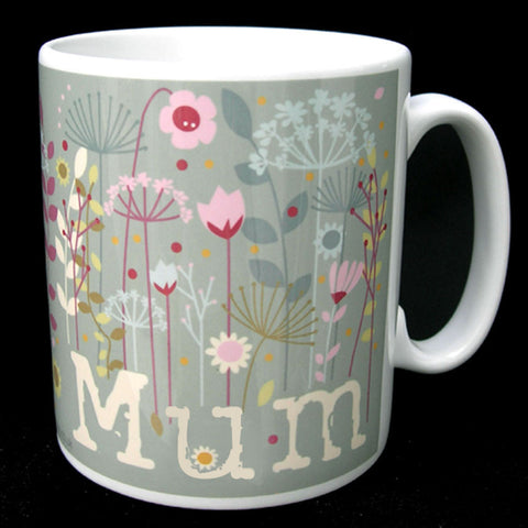 Mum Floral North Divide Mug  (MBM3)