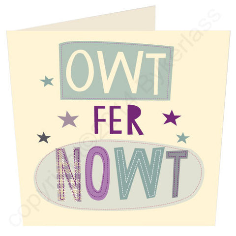 Owt Fer Nowt - North Divide Card (ND10)