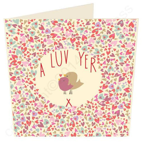 A Luv Yer - North West Card  (ND29)