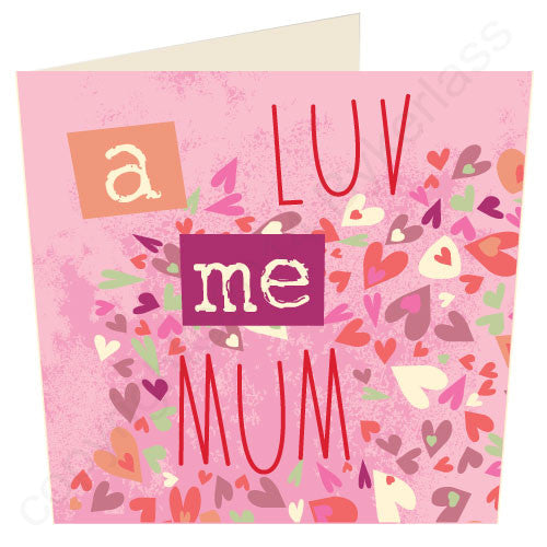 A Luv Me Mum - North Divide Card