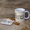 My Northern Soul Mate mug and Coaster by Wotmalike