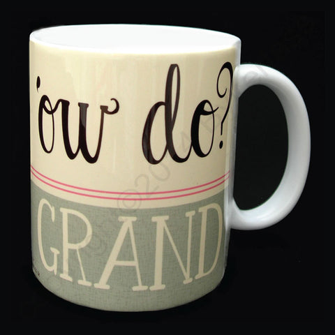 Ow Do? Grand Yorkshire Speak Mug (YSM10)