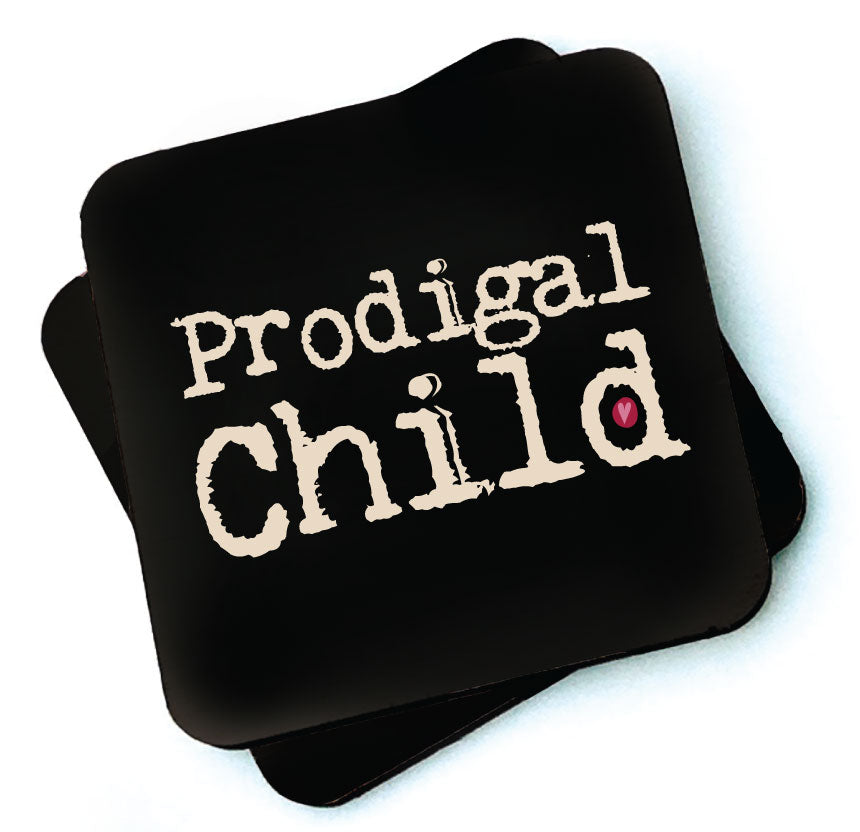 Prodigal Child -  Dark Collection Wooden Coaster by Wotmalike