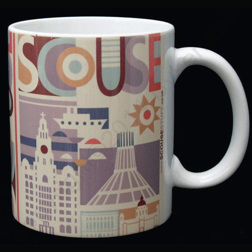 Scouse City Scouse Mug