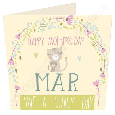 Happy Mothers Day Mar Large Mothers Day Card (SM1)