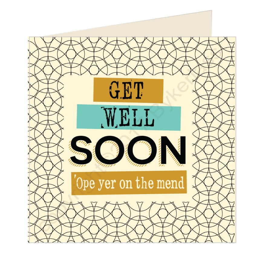 Get Well Soon Scouse Card