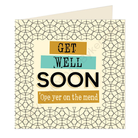 Get Well Soon Scouse Card (SQ13)