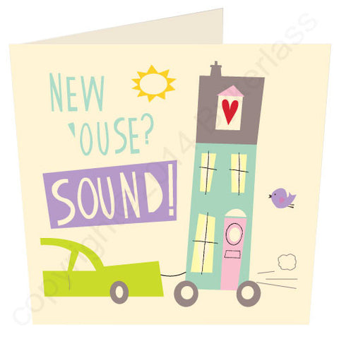 New House Sound - Scouse New Home Card (SS11)