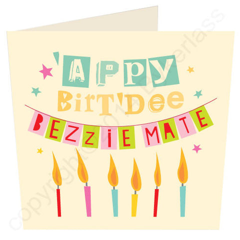'Appy Birt'dee Bezzie Mate - Scouse Birthday Card (SS14)
