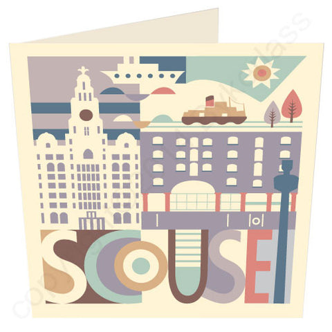 Scouse City Card (SS28)
