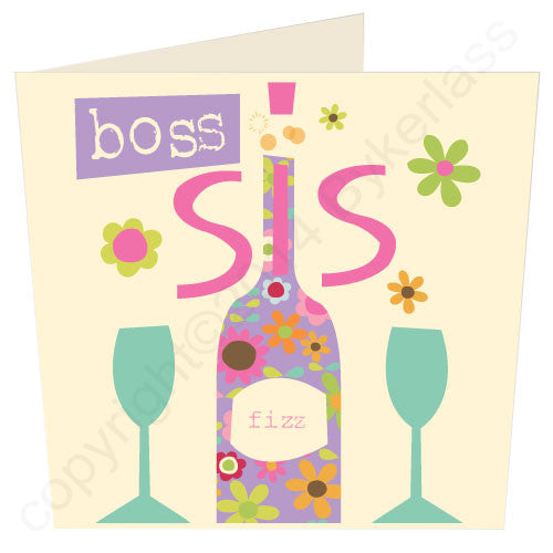 Boss Sis - Scouse Stuff Card