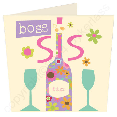 Boss Sis - Scouse Stuff Card (SS39)