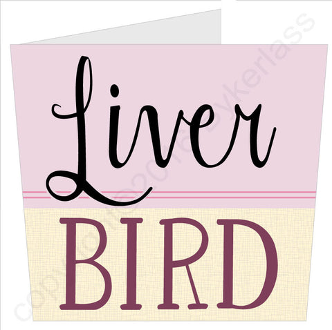 NEW! Liver Bird - Scouse Card (SS51)