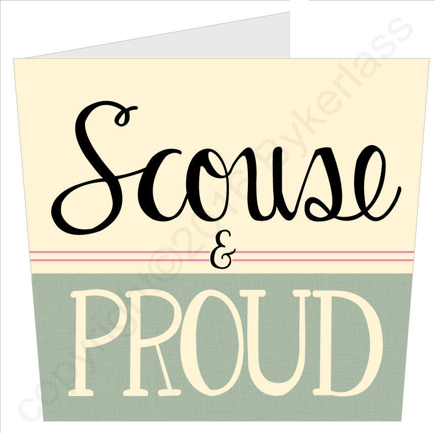 Scouse and Proud - Scouse Card by What am I like