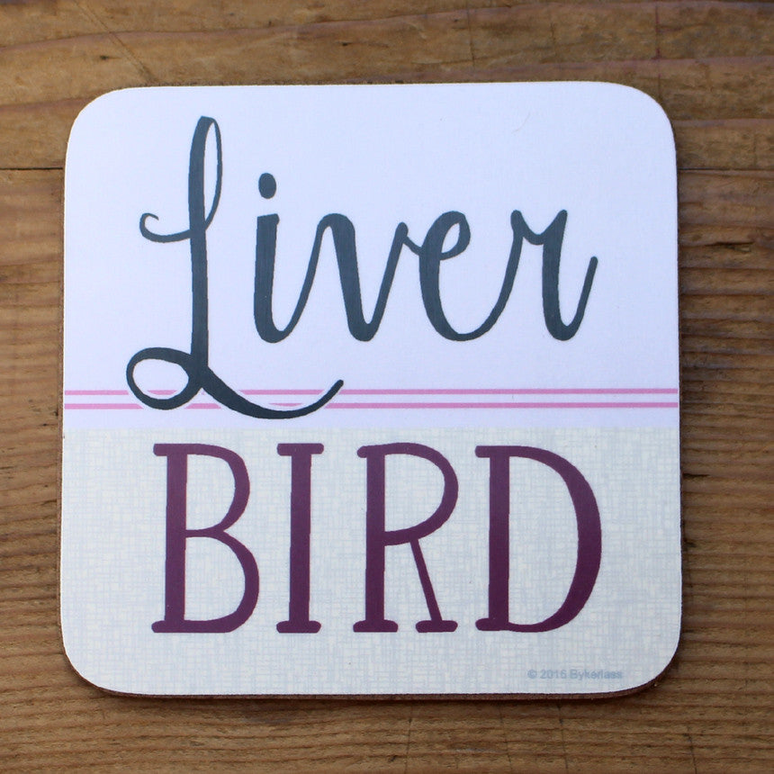 Liver Bird Scouse Coaster - Scouse Gifts by Wotmalike