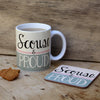 Scouse and Proud Scouse Coaster - Scouse Gifts by Wotmalike