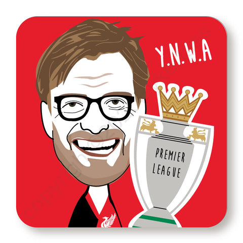 Jurgen Klopp Cork Backed Coaster    (CBJK)