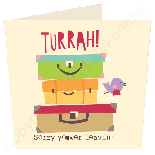 Turrah - Cumbrian Leaving Card
