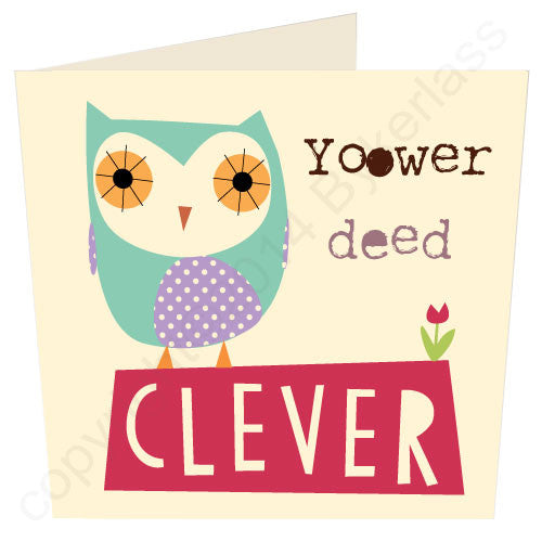 Yoower Ded Clever - Cumbrian Card