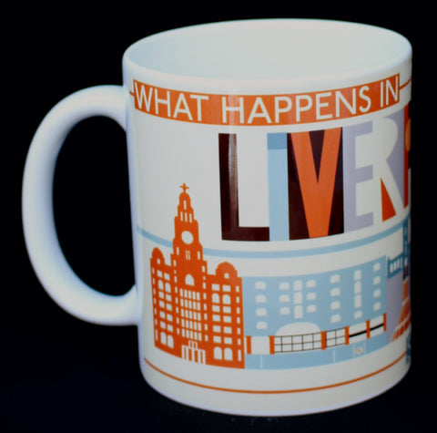 What Happens In Liverpool Scouse City Mug (SM9)