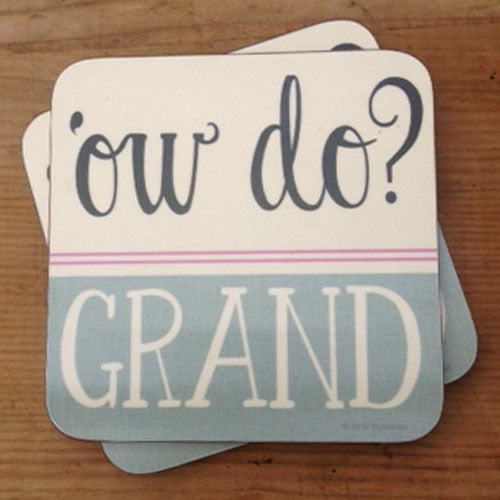 Ow Do Grand Yorkshire Gifts Coaster