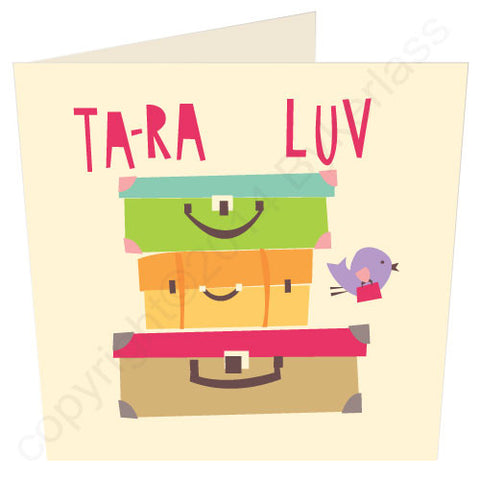 Tara Luv - Yorkshire Leaving Card (YY18)