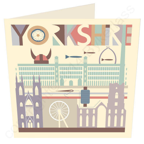 Yorkshire Scape - Yorkshire Yorkshire Card